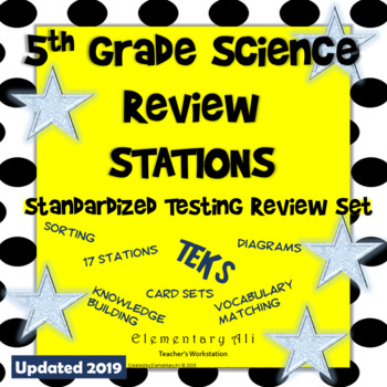 5th Grade Science Review Stations (staar and Common Core)