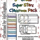 5th Grade Super Stars Classroom Pack