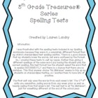 5th Grade Treasures® Series Spelling Tests