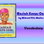 5th Language Arts HM 4.1 Mariah Keeps Cool Vocab PPT