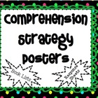 6 Reading Strategy Posters WITH Response Sheets AND Book Lists