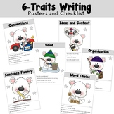 6 Trait Writing Posters and Checklist