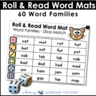 Roll and Read 1- Word Families (80 pages) Whimsy Workshop