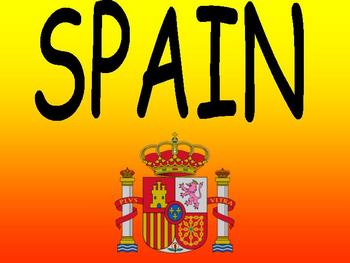 66 Slide Spain (Espana) Power Point (in English)