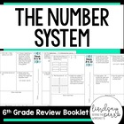 6th Grade Common Core Number System Review Booklet