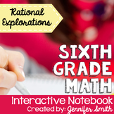 6th Grade Interactive Notebook Bundle- Rational Expressions