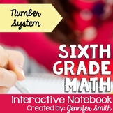 6th Grade Interactive Notebook Bundle- Number System- Alig