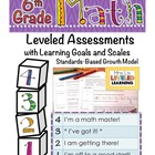 6th Grade Math Assessment (6.RP.1-3) with Learning Goals a