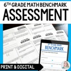 6th Grade Math Common Core Benchmark Exam