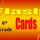 6th Grade Math Common Core Flash Card Set 1
