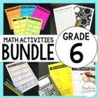 6th Grade Math Mega Bundle of Resources {Common Core Edition}