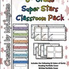6th Grade Super Stars Classroom Pack