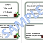 6th Grade Vocabulary Game 2