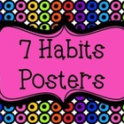 7 Habits Posters {Bright Rainbow Colors} - The Leader in Me