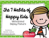 7 Habits of Happy Kids + the 8th Habit GREEN