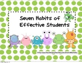 7 Habits of Students: MONSTERS edition