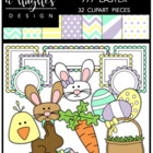 777 Easter Bundle {Graphics for Commercial Use}