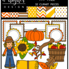 777 Fall Bundle {Graphics for Commercial Use}