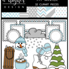 777 Winter Bundle {Graphics for Commercial Use}