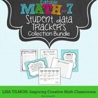 7th Grade CCSS Math Student Data Bundle (EDITABLE)
