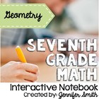 7th Grade Interactive Notebook Bundle- Geometry CCSS