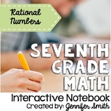 Seventh Grade Interactive Notebook Bundle- Operations with