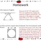7th Grade Math Common Core Aligned Homework for the Year
