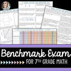 7th Grade Math Common Core Benchmark Exam