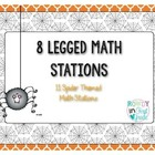 8 Legged Math Stations