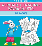 80 Alphabet Tracing Worksheets