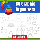 80 Graphic Organizers for All Subjects