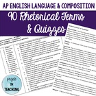 90 Rhetorical Terms & Devices for AP English Language