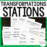 8th Grade Geometry Common Core Transformations Stations