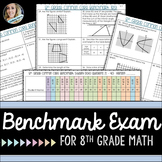 8th Grade Math Common Core Benchmark Exam