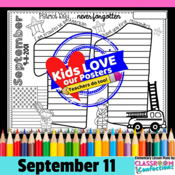 9-11 Poster Activity {Remembering September 11th}