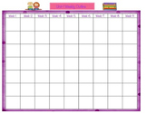 9 Week Planning Template-Unit 1