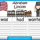 A+ Abraham Lincoln... Three Graphic Organizers