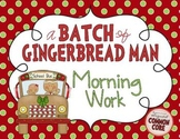 A Batch of Gingerbread Man Worksheets