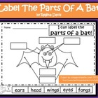 A+ Bats:  Label The Parts Of A Bat