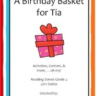 A Birthday Basket for Tia Reading Street Grade 2 2011 & 20