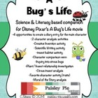A Bug's Life:A  Science & Literacy based movie companion