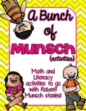 A Bunch of Munsch-A Robert Munsch Book Study Pack