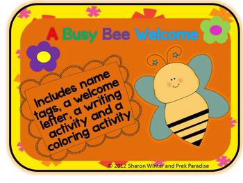 A Busy Bee Welcome