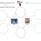 A Christmas Carol comparison movie to book bubble map