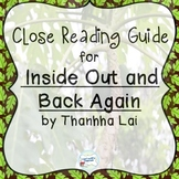 Inside Out and Back Again by Thanhha Lai: A Guide to Close