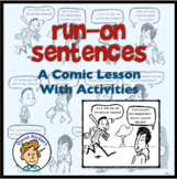 A Comic Lesson on Run-On Sentences: Activities Included