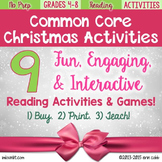 A Common Core Christmas! 9 Christmas Activities for Readin