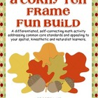 A Corny Ten Frame Fun Build-Differentiated and Aligned to