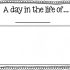 A Day in the Life of Story Booklet FREEBIE