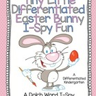 A Differentiated Easter I-Spy Activity Tiered To Dolch Lists 1-11